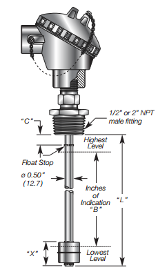 Float Level Transducer Details