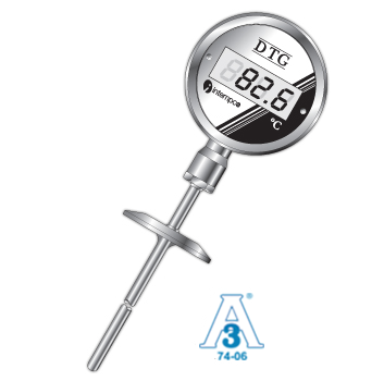 DTG34 Sanitary Digital Temperature Indicator, Programmable 4-20mA Output Picture