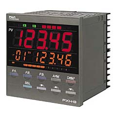 High-speed and high-performance 1/4 DIN process and temperature controller Picture