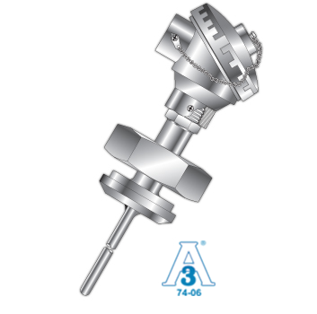 Sanitary RTD w/Sanitary Fitting & Connection Head Picture