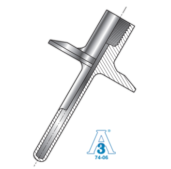 Sanitary Thermowell Straight Type, Stem Machined from Bar Stock Picture
