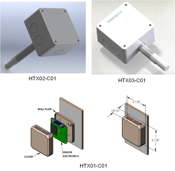 HVAC Humidity-Temperature Transmitter Details